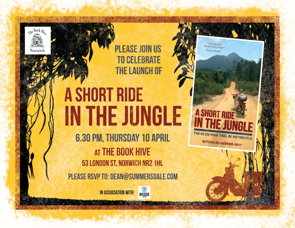 A Short Ride in the Jungle_Book Hive Invite