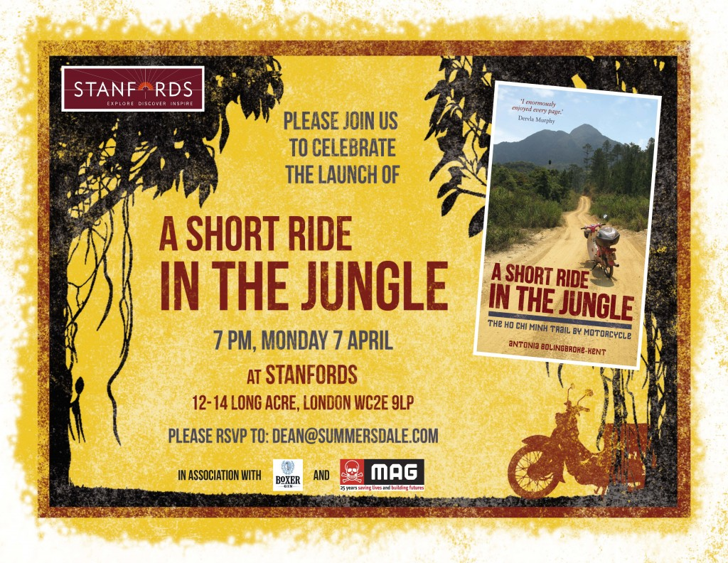 A Short Ride in the Jungle_Stanfords London invite